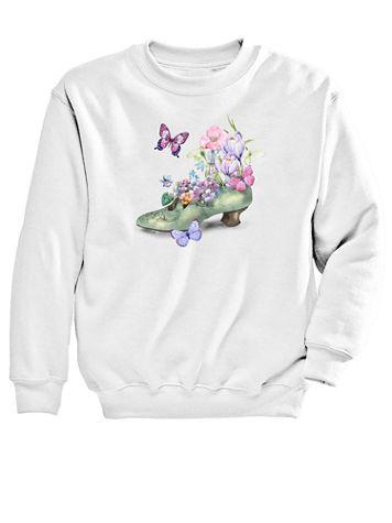 Graphic Sweatshirt-Shoe - Image 1 of 1