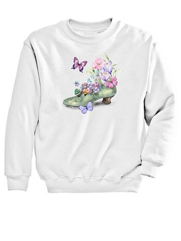 Graphic Sweatshirt-Shoe - Image 2 of 2