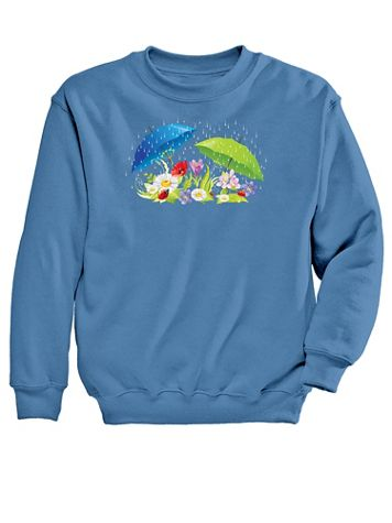 Graphic Sweatshirt-Umbrella - Image 1 of 1