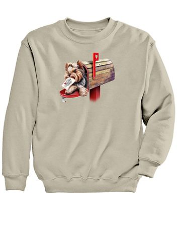 Graphic Sweatshirt-Mailbox - Image 2 of 2