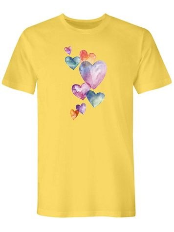 Graphic Tee-Watercolor - Image 2 of 2