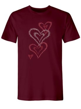 Graphic Tee-Hearts