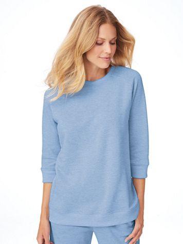 Better-Than-Basic Heathered Sweatshirt - Image 1 of 10