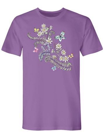 Graphic Tee-Fern - Image 1 of 1
