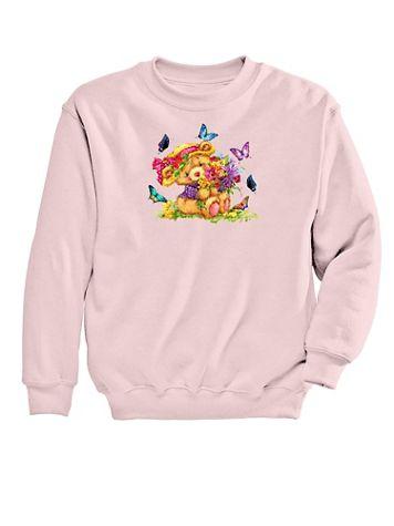 Graphic Sweatshirt-Teddy - Image 2 of 2