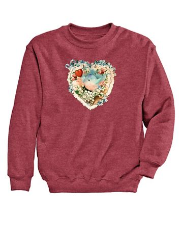 Graphic Sweatshirt-Birdie - Image 2 of 2