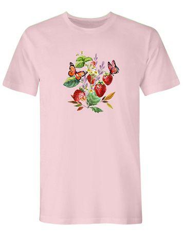 Graphic Tee-Strawberry - Image 1 of 1