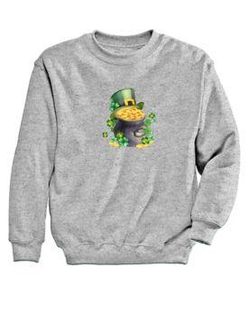 Graphic Sweatshirt-Gold