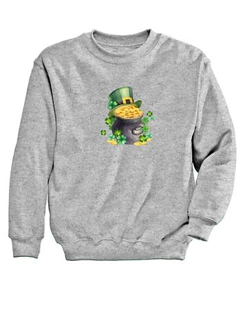 Graphic Sweatshirt-Gold - Image 2 of 2