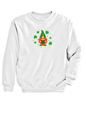 Graphic Sweatshirt-Gnome