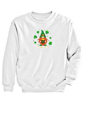 Graphic Sweatshirt-Gnome - Image 2 of 2