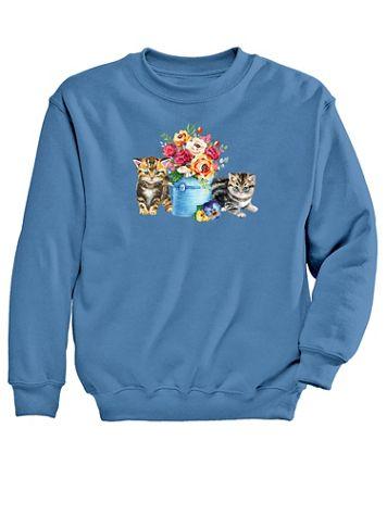 Graphic Sweatshirt – Garden - Image 2 of 2