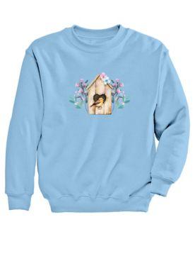 Graphic Sweatshirt – Birdhouse