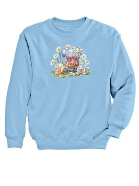 Graphic Sweatshirt – Bunnies