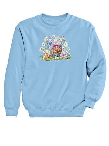 Graphic Sweatshirt – Bunnies - Image 2 of 2