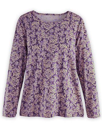 Long-Sleeve Foliage Parfait Tee - Image 1 of 5