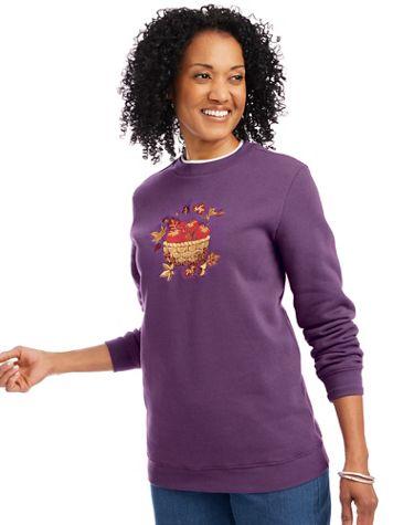 Holiday Embroidered Sweatshirt - Image 1 of 7