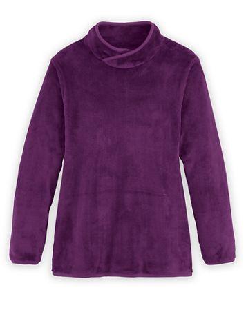 Long-Sleeve Cozy Fleece Top - Image 1 of 4