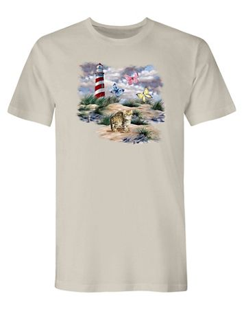 Lighthouse Graphic Tee - Image 2 of 2