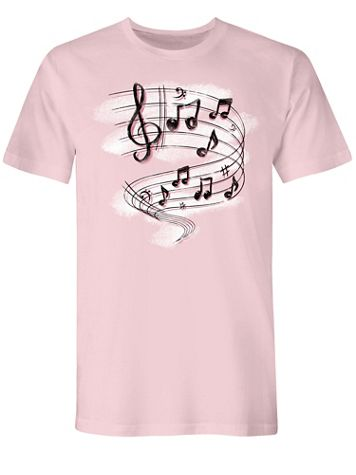 Music Scale Graphic Tee - Image 1 of 1