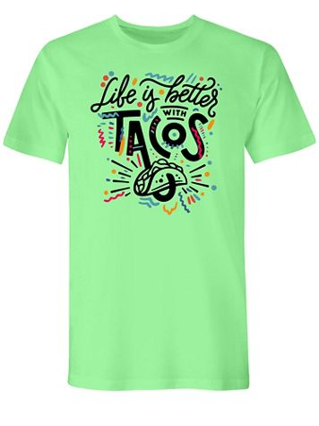 Tacos Graphic Tee - Image 2 of 2