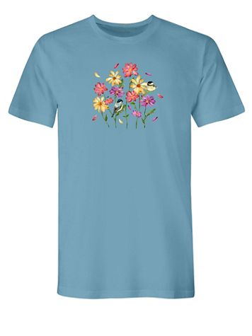 Flowers Graphic Tee - Image 2 of 2