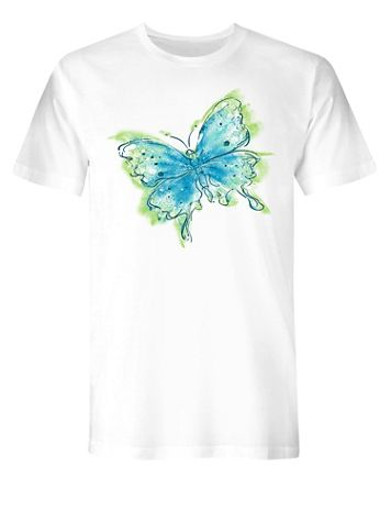 Butterfly Graphic Tee - Image 2 of 2