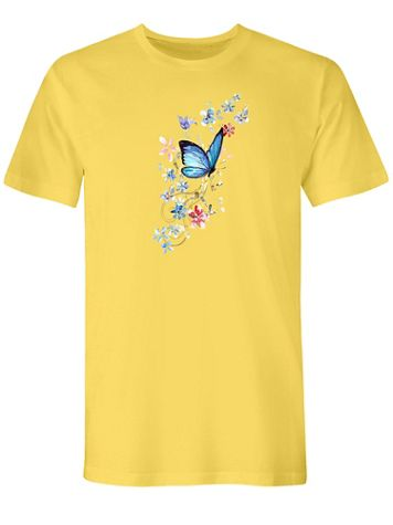 Flutter Graphic Tee - Image 2 of 2