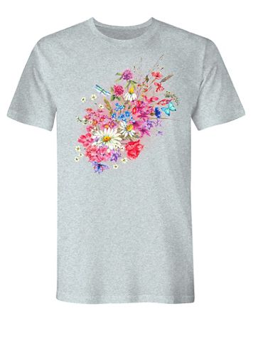 Floral Graphic Tee - Image 2 of 2