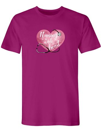 Heart Graphic Tee - Image 2 of 2