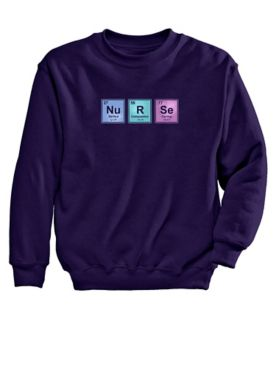 Nurse Graphic Sweatshirt