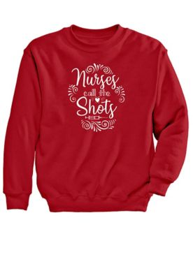 Nurses Graphic Sweatshirt