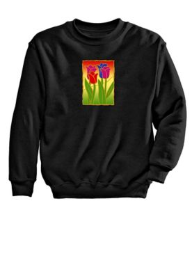 Tulip Graphic Sweatshirt