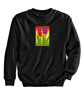 Tulip Graphic Sweatshirt - Image 2 of 2