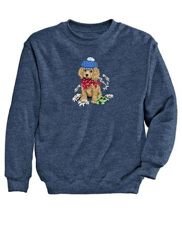 Dog Graphic Sweatshirt - Image 1 of 1
