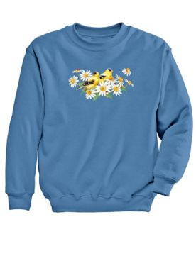 Finches Graphic Sweatshirt