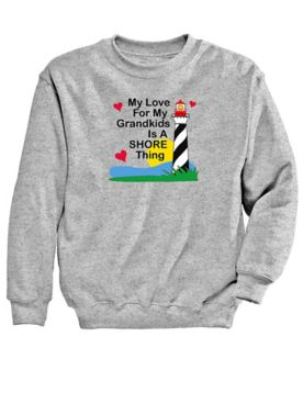 Grandkids Graphic Sweatshirt