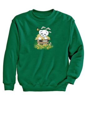 Puppy Graphic Sweatshirt
