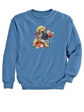 Dinner Graphic Sweatshirt