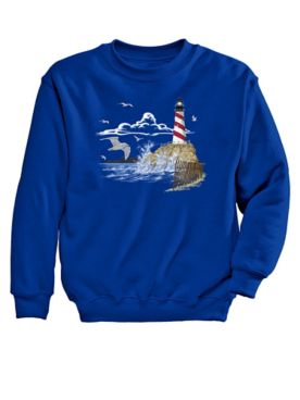 Lighthouse Graphic Sweatshirt