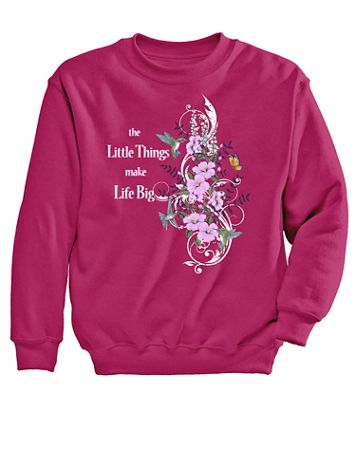 Hummingbird Graphic Sweatshirt - Image 1 of 1