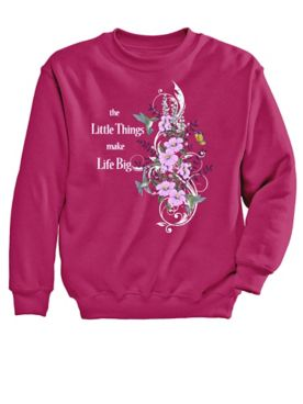 Hummingbird Graphic Sweatshirt