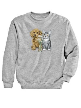 Pets Graphic Sweatshirt