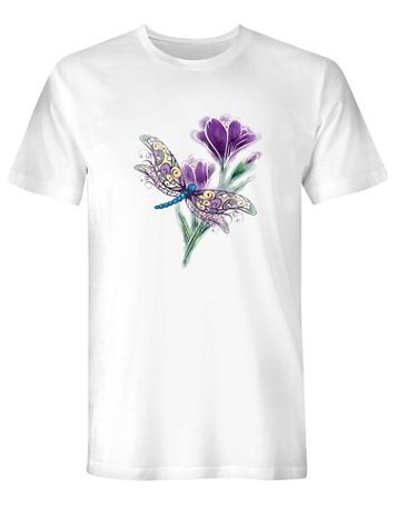 Dragonfly Graphic Tee - Image 1 of 1