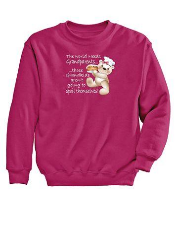 Spoil Graphic Sweatshirt - Image 2 of 2