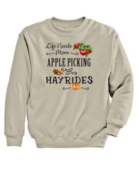 Hayride Graphic Sweatshirt