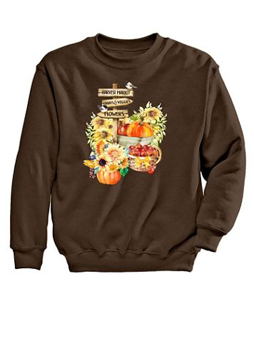 Harvest Graphic Sweatshirt - Image 2 of 2