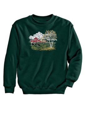 Farm Graphic Sweatshirt