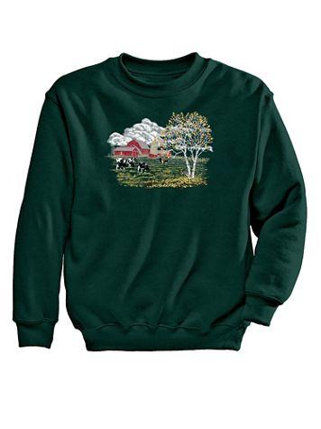 Farm Graphic Sweatshirt - Image 2 of 2