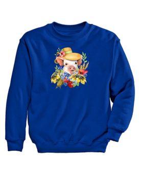 Piglet Graphic Sweatshirt